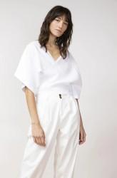 Hose Jungle Folk Duoro Trousers white