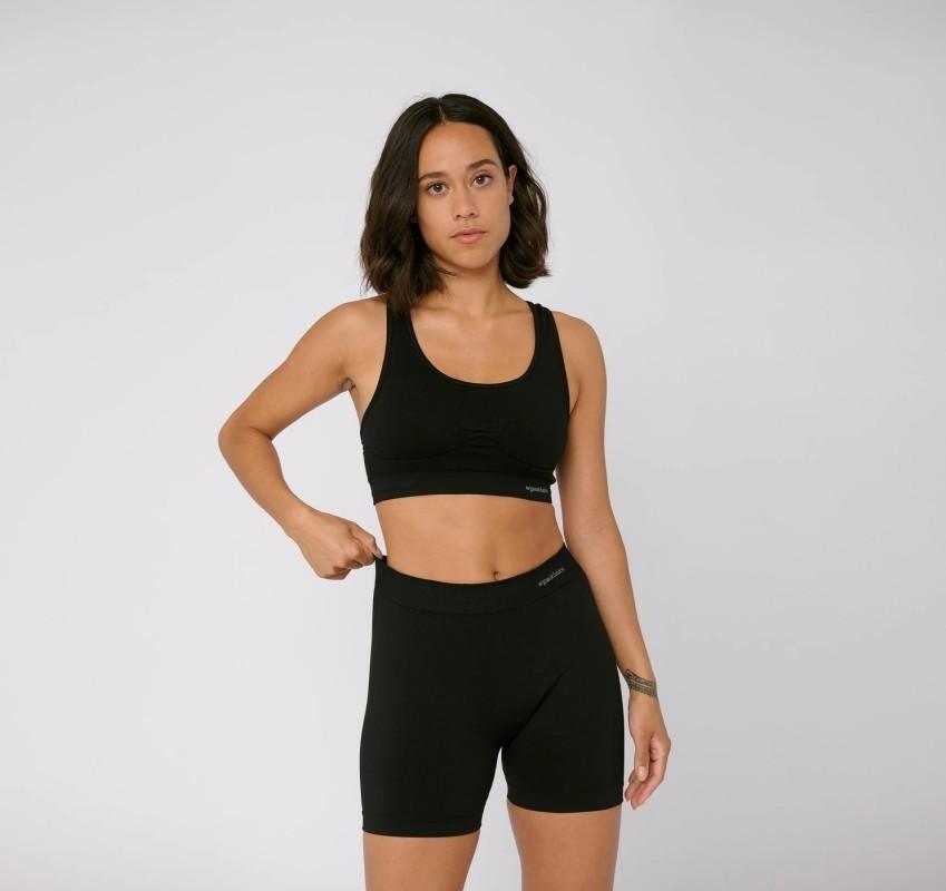 Workout-BH Organic Basics SilverTech™ Active Sports Bra black