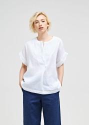 Bluse Maska Cia Linen Blouse white