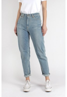 Damen-Jeans Kuyichi Nora Mom Fit Faded Blue Denim