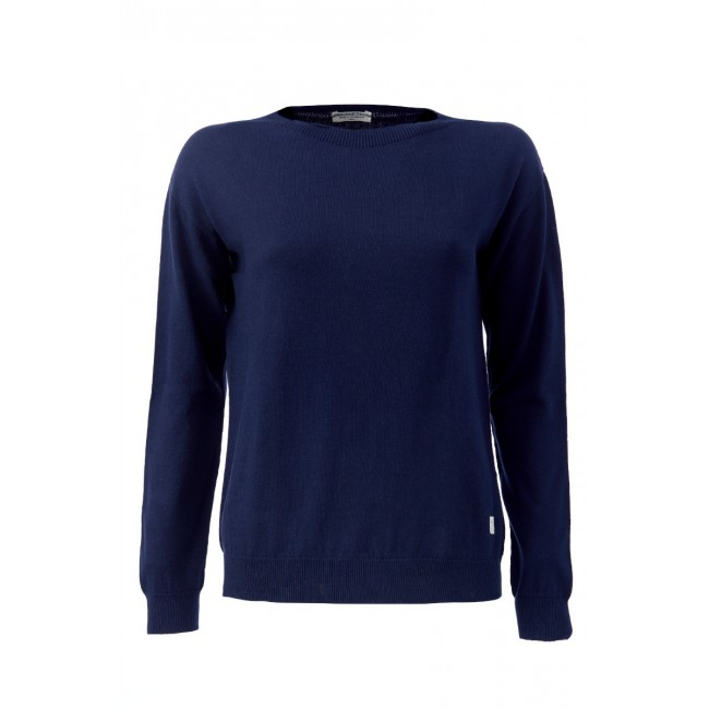 Damen-Strickpullover ZRCL Swiss Edition blue