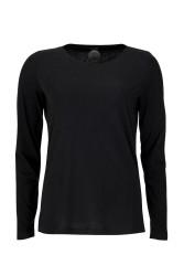 Damen-Longsleeve ZRCL Basic black
