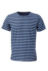Herren-T-Shirt ZRCL Ringel blue/silver
