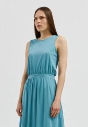 Tencel-Kleid Armedangels Laminaa teal blue