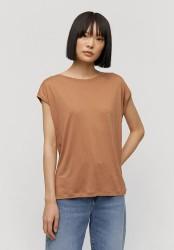 Tencel-T-Shirt Armedangels Jilaa dark caramel