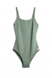 Badeanzug Neumühle Verzasca Net-Swimsuit olive