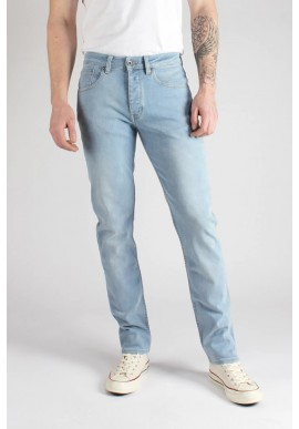 Herren-Jeans Kuyichi Jamie Slim Sun Faded Light Blue