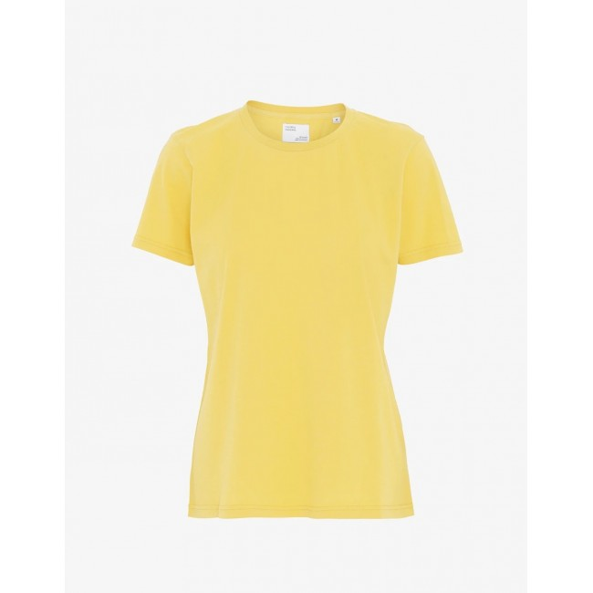 Damen-T-Shirt Colorful Standard lemon yellow
