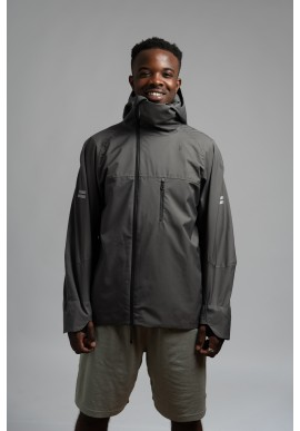 Jacke Montreet The Runner grau