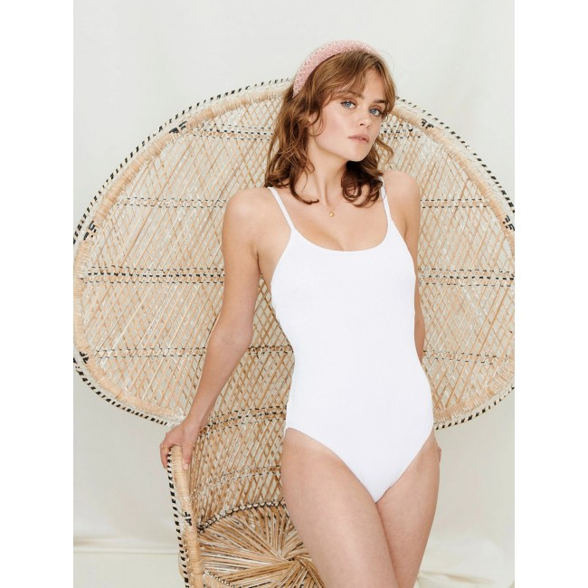 Badeanzug Underprotection Adrianna Swimsuit white