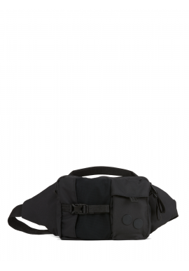 Hip Bag pinqponq Tetrik Construct Black