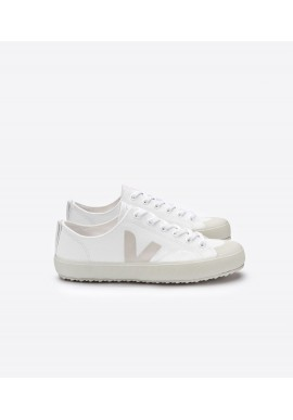 Veja Nova Canvas White Pierre - vegan