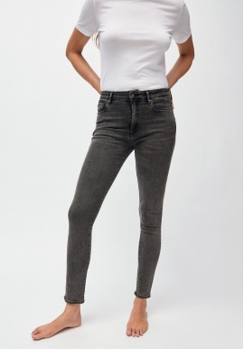 Damen-Jeans Armedangels Tillaa X Stretch coal mine