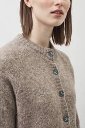 Cardigan Maska Nala Soft Silk Cashmere Wool taupe