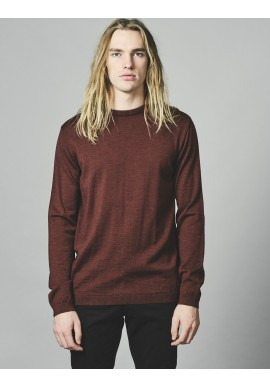 Strickpullover Klitmøller Collective Basic Merino Knit bordeaux