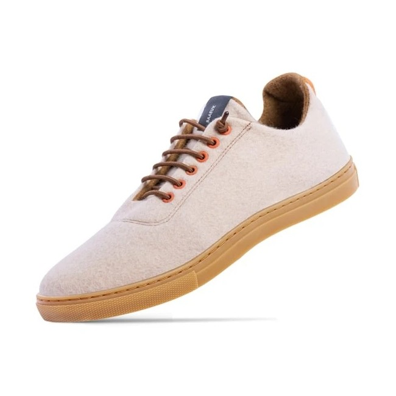 Woll-Sneakers Baabuk Urban Wooler pumpkin cream