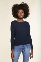 Pullover Les Racines Du Ciel Round Neck Sweater blue chiné