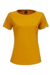 Damen Raglan T-Shirt ZRCL Basic amber