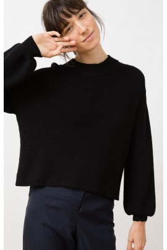 Strickpullover Jungle Folk Helo Sweater black