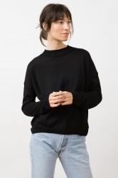Strickpullover Jungle Folk Arvo Sweater black