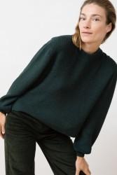 Strickpullover Jungle Folk Helo Sweater forrest green
