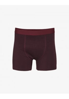 Boxershorts Colorful Standard oxblood red