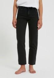 Damen-Jeans Armedangels Fjellaa Cropped black-grey