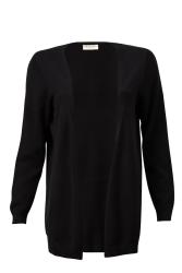 Damen-Knit-Cardigan ZRCL Swiss Edition black