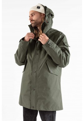 Jeckybeng The Jacket wood green