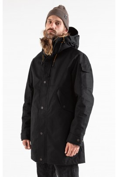 Jeckybeng The Jacket deep black