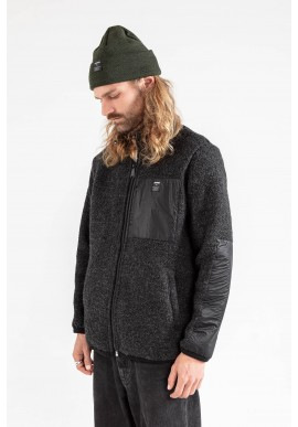 Jeckybeng The Natural Wool Fleece Black