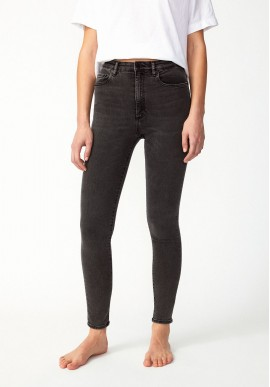 Damen-Jeans Armedangels Ingaa X Stretch Coal Mine