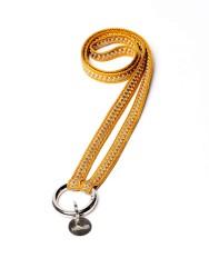 Schlüsselband Yoomee Keychain Zahra Sunflower Gold