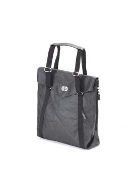 Qwstion Tote Organic Jet Black