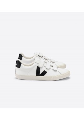 Veja Esplar 3-Lock Leather Extra White Black