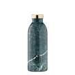 Thermosflasche 24Bottles Clima 500ml Green Marble