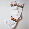 Viva con Agua Socken Rainbow Socks Millerntor-Gallery White