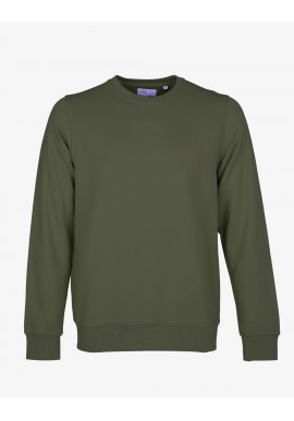 Sweatshirt Colorful Standard Seaweed Green