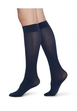 Swedish Stockings Freja Knee-High Navy