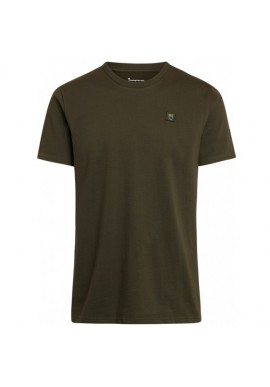 T-Shirt Knowledge Cotton Apparel Alder Badge Tee Forrest Night