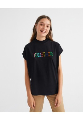 T-Shirt Thinking Mu Together T-Shirt Black