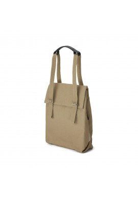 Qwstion Bananatex Flap Tote Small Sand