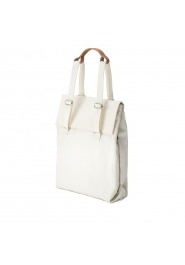 Qwstion Bananatex Flap Tote Medium Natural White