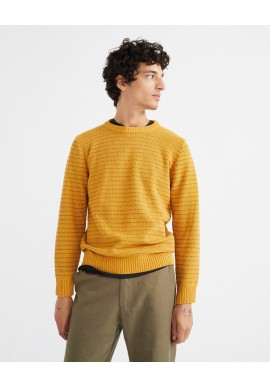Strickpullover Thinking Mu Miki Knitted Sweater Camel
