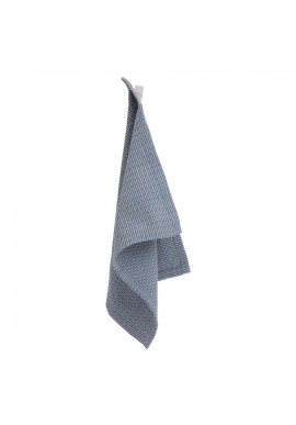 Waschlappen The Organic Company Kitchen and Wash Cloth Grey Blue Stone