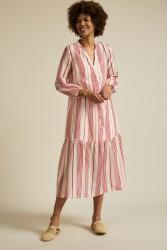 Midi-Kleid Lanius Print Stripe Red