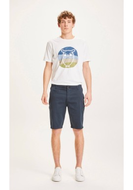 Chino-Shorts Knowledge Cotton Apparel Chuck total eclipse
