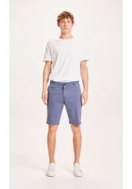 Chino-Shorts Knowledge Cotton Apparel Chuck vintage indigo