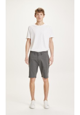 Chino-Shorts Knowledge Cotton Apparel Chuck Checked Total Eclipse