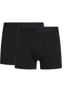 Boxershorts Maple 2er Pack Knowledge Cotton Apparel Underwear Black Jet